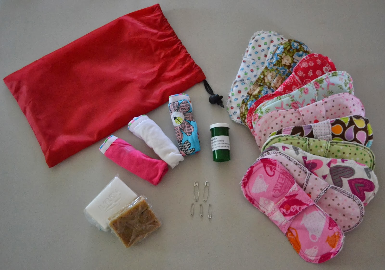 How To Sew Cloth Pads Mama Pads Tutorial Updated