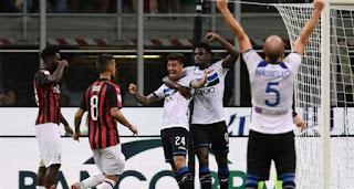 موعد مباراة ميلان واتلانتا  اليوم السبت 16-2-2019 ضمن الدوري الإيطالي