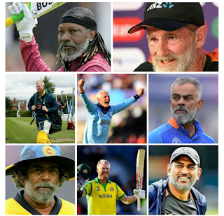 Faceapp Cricketers Photos