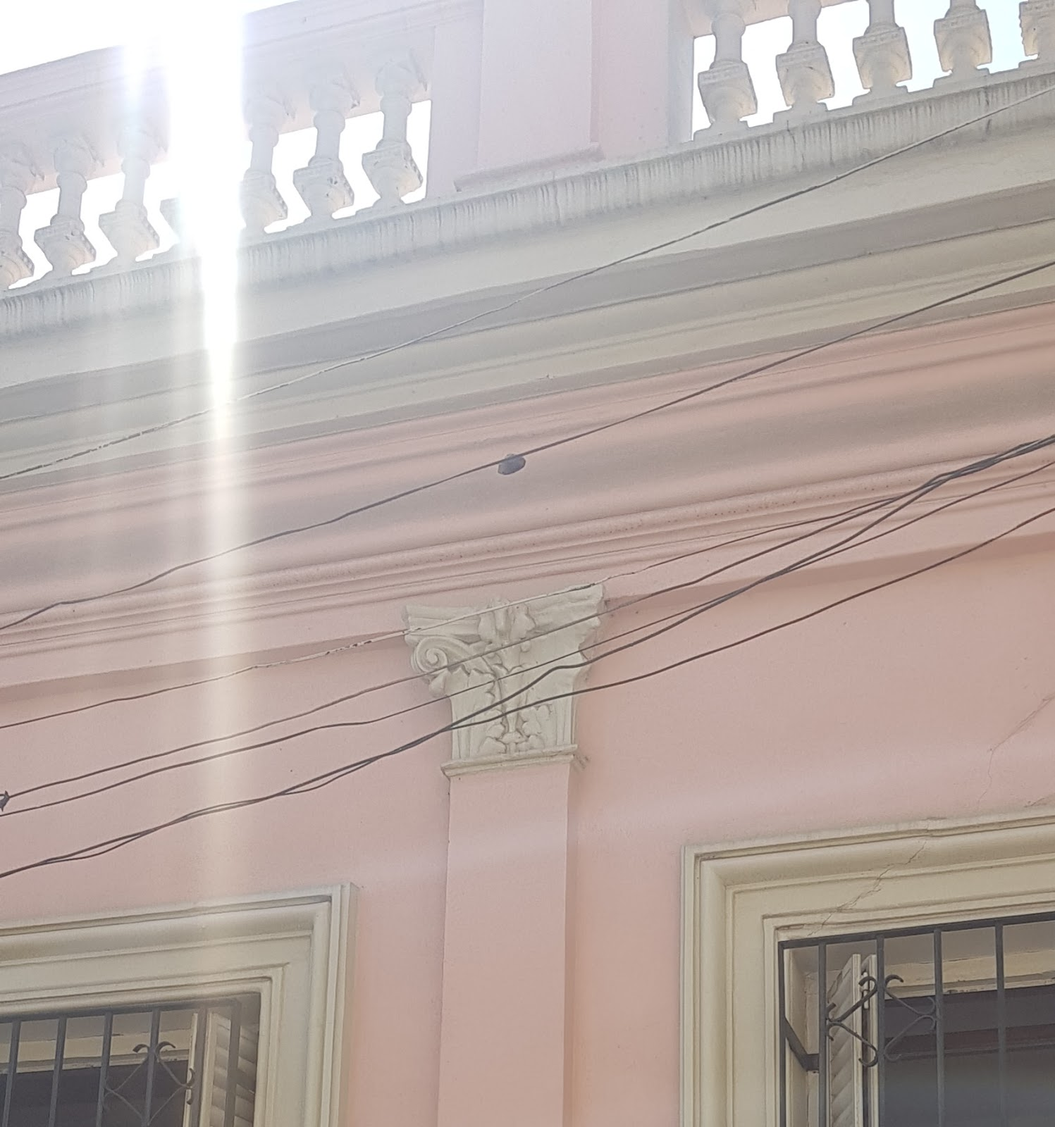 Ventilacion arriba casa chorizo