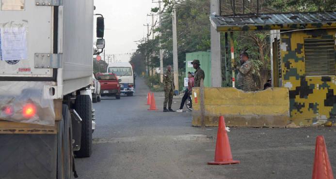 Refuerzan con militares y policías provincia de Pedernales