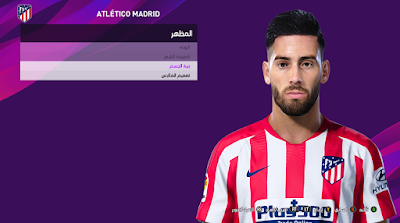 PES 2020 Faces Yannick Carrasco by So PES