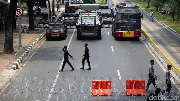 BEM SI Jabodetabek Demo Hari Ini, Lalin Sekitar Istana Ditutup
