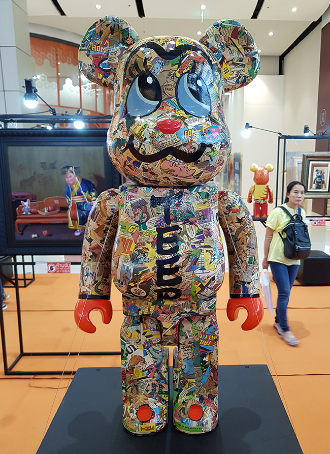 Prateep Kochabua ประทีป คชบัว - Color Me Bear 2018 designer Be@rBrick toy