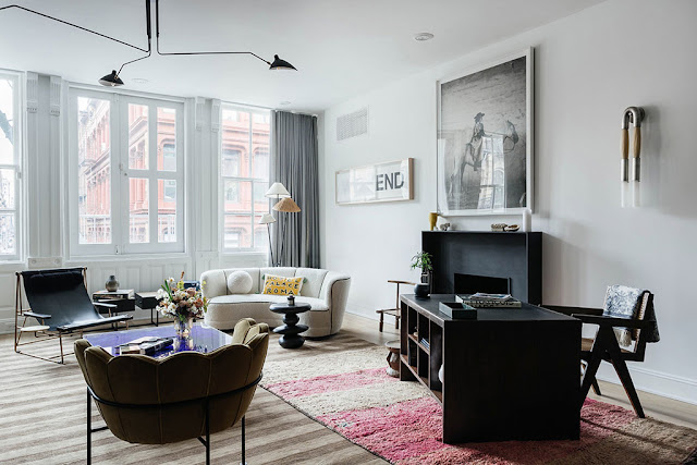 Colourful New York Apartment