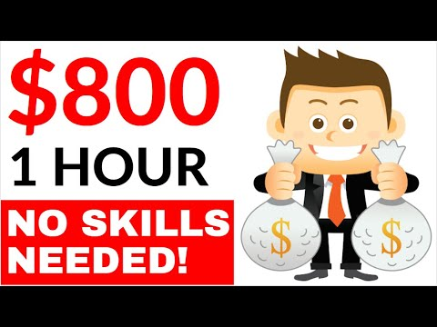 Earn $800 in 1 Hour AUTOMATICALLY for FREE! (No Skills) - Make Money Online