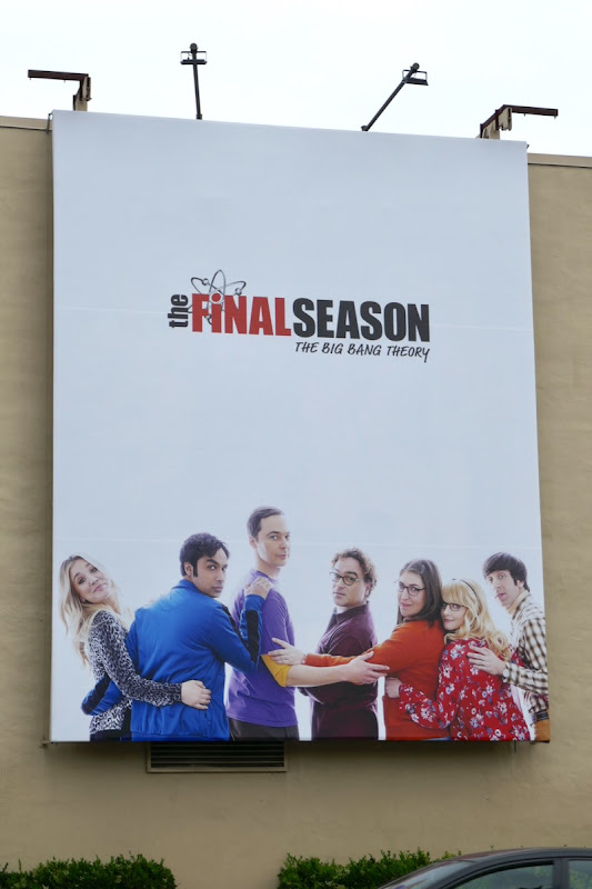 Big Bang Theory final season 2019 billboard
