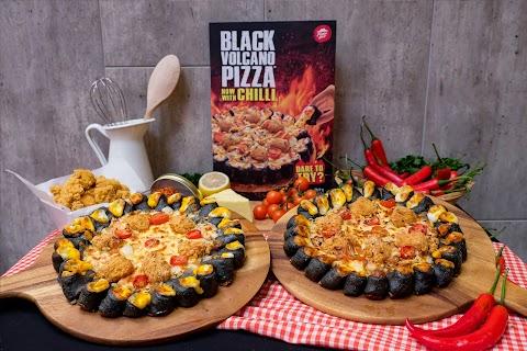 BLACK VOLCANO PIZZA DENGAN CILI TAWARAN TERBARU PIZZA HUT MALAYSIA!