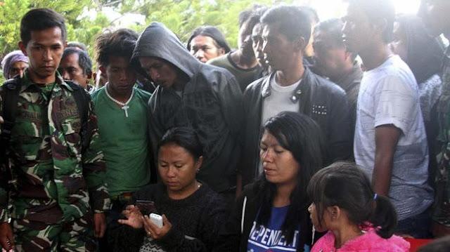 Santunan Rp24 Juta, Keluarga Korban Penembakan Nduga Marah