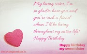 {BEST 50} happy birthday images for sister 2019 , happy birthday Quotes for sister - Better pic