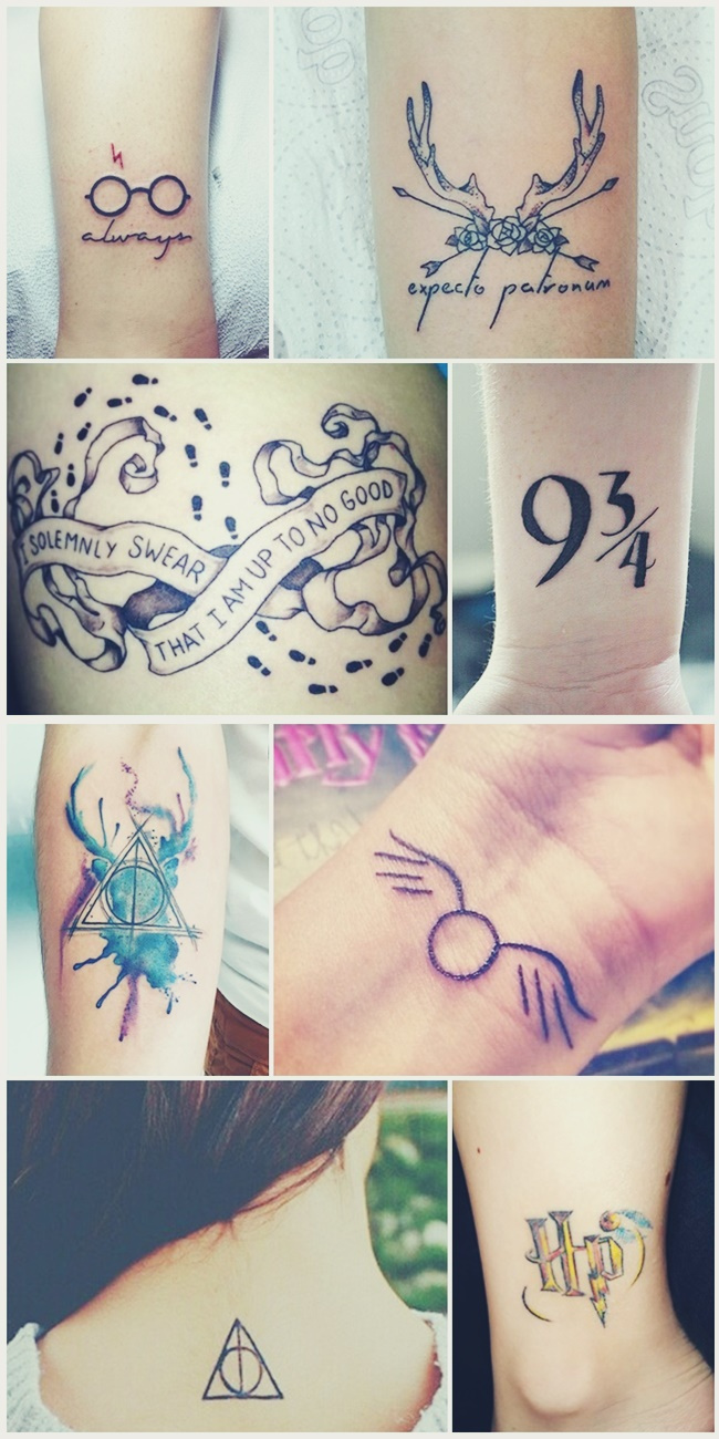 tatuagem harry potter