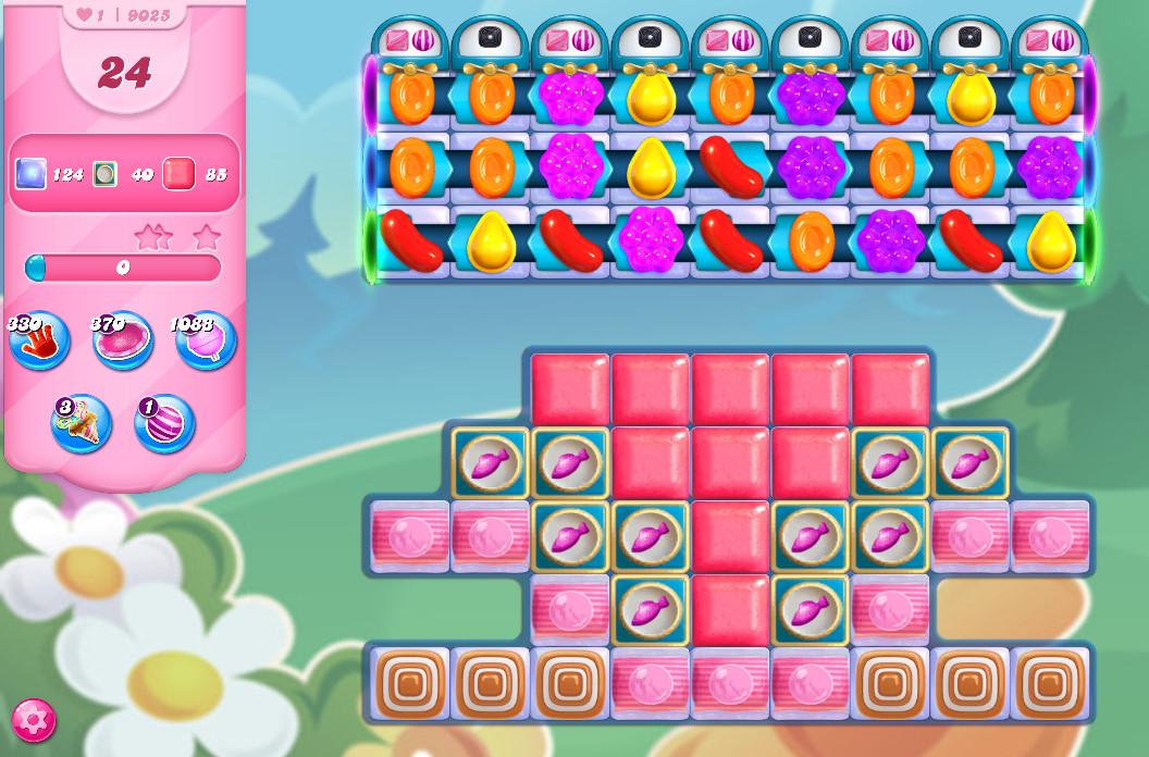 Candy Crush Saga level 9025