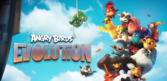 Angry Birds Evolution Mod Apk Data Terbaru High Damage