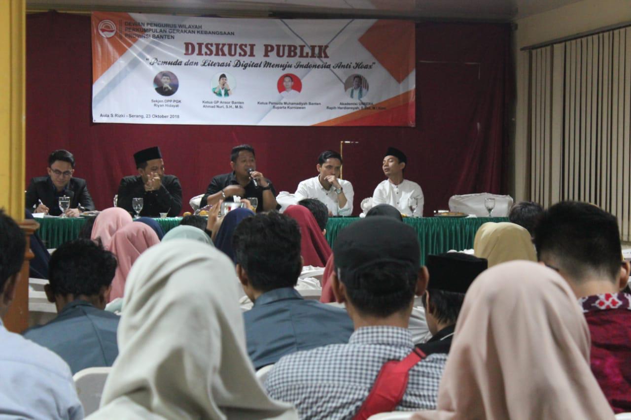 Jelang Pemilu, PGK Gelar Diskusi Publik