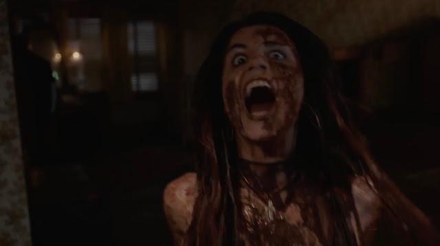 The Bye Bye Man, horror scene, girl screaming, movie still