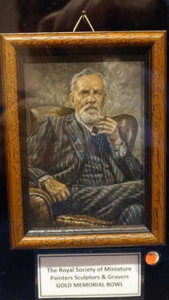 The Cigar Aficianado by Doria Radu