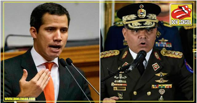 Guaidó le recuerda a Padrino que los Golpes solo los pueden dar los militares