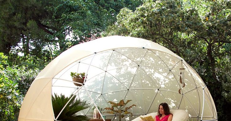 Moon To Moon Outside The Pop Up Garden Igloo