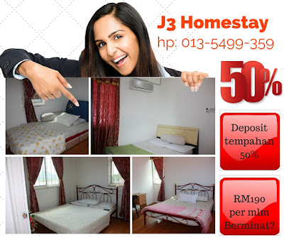 Booking J3 Homestay Tawau