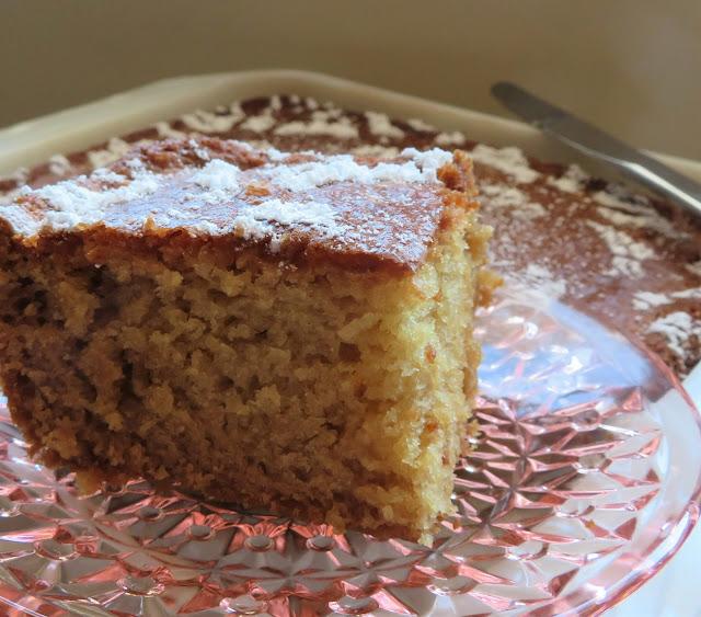 Vanilla Wacky Cake