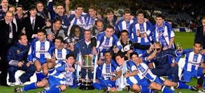 Deportiva de la Coruña campeón 2000
