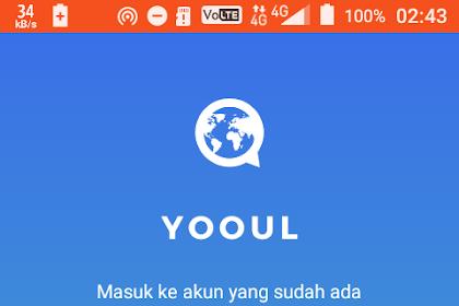 Cara daftar Yooul di android (Mudah dan Cepat)