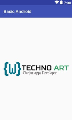 WildanTechnoArt-SplashScreen Example