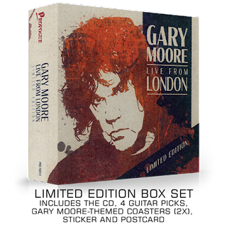 "Το τραγούδι του Gary Moore ""Since I Met You Baby"" από το album ""Live From London"""