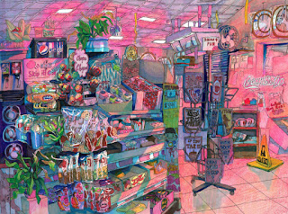 Aisle Horror - Mixed Media - heartsl0b - used with permission
