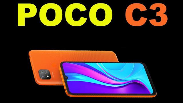 مواصفات ومميزات هاتف شاومي Xiaomi Poco C3 بسعر رهيب