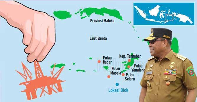 """Ambon, Malukupost.com - Gubernur Maluku, Murad Ismail mendorong percepatan proses membebaskan lahan dan Analisa Dampak Lingkungan (Amdal) Blok Migas Masela yang dijadwalkan pada 2019 - 2022.    """"Saya saat pertemuan dengan pimpinan SKK Migas tadi siang (Senin) telah meminta Pemprov Maluku dan Pemkab Kepulauan Tanimbar siap mendorong agar pembebasan lahan dan Amdal rampung pada 2020 sehingga  bisa mempercepat pembangunan infrastruktur, """" kata Gubernur dikonfirmasi Senin (4/11) petang."""