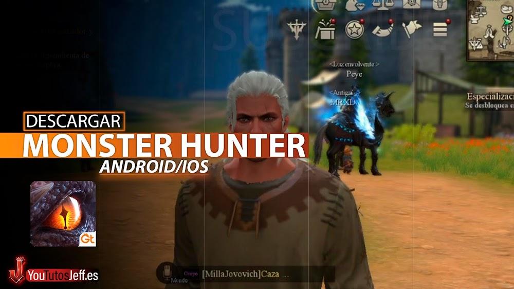 Monster Hunter para Teléfono, Descargar Rangers of Oblivion Android o iOS