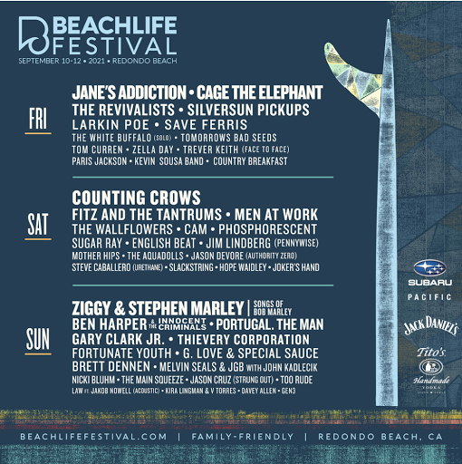 BeachLife Festival returns to nearby Redondo Beach this September 10-12! Get your tickets!