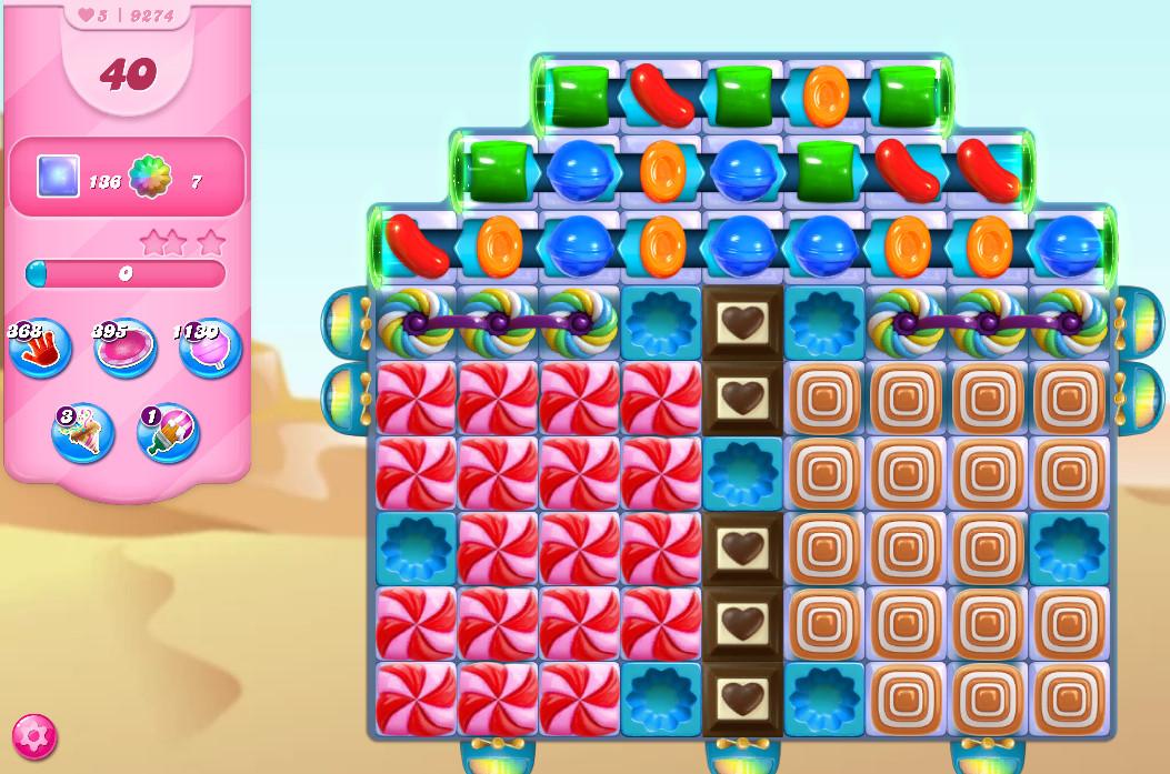 Candy Crush Saga level 9274