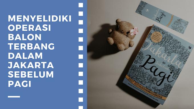 [Book Review] Jakarta Sebelum Pagi by Ziggy Zezsyazeoviennazabrizkie