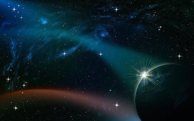 جمال الفضاء الواسع أجمل خلفياتة