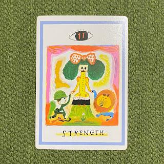 タロットカード,奇術師,マジシャン,the magician,ワン・オラクル,力,ストレングス,strength