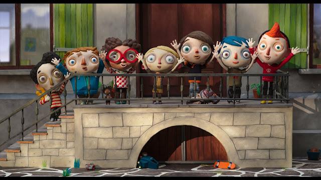 Fotograma de la pelicula ganadora del Festival de Annecy My Life as a Courgette Mi vida de calabacín