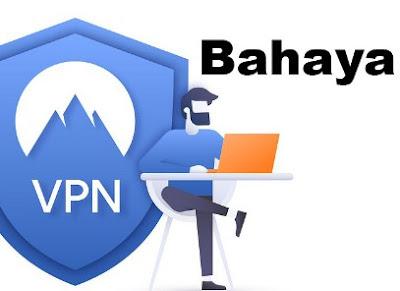 aya Menggunakan VPN Gratisan