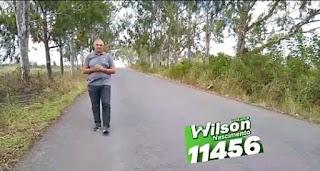 Em Sapé Wilson Nascimento destaca melhorias na  mobilidade na zona rural facilitando ainda mais para motoristas e moradores.