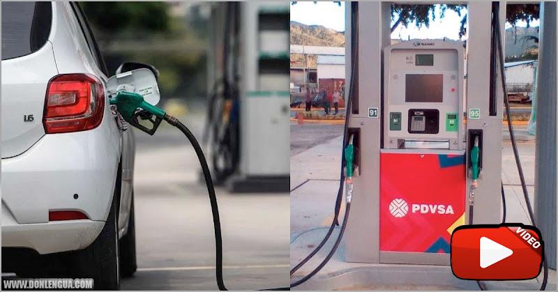 La gasolina en Venezuela ya vale hasta 4,50 dólares por litro