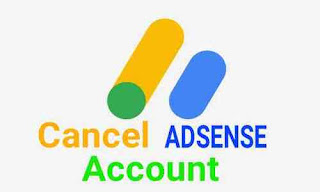 Cara membatakan akun adsense terbaru
