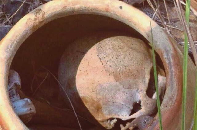 Rangka Manusia Dalam Tempayan ditemui di Tronoh
