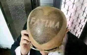 Najsmešnije slike: frizura Fatima na čelu