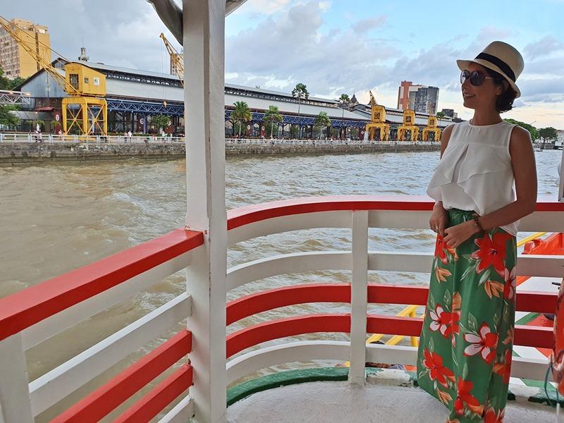Passeio de barco em Belém Vale Verde
