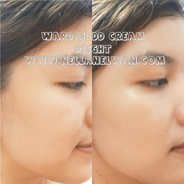 wardah dd cream shade light coverage test nellanelwan