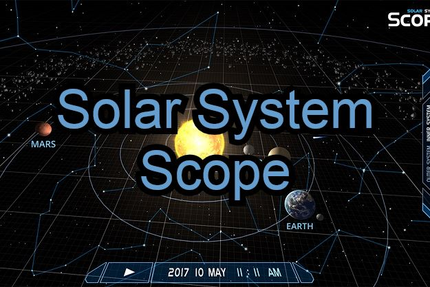 solar system scope δωρεάν εφαρμογή διάστημα