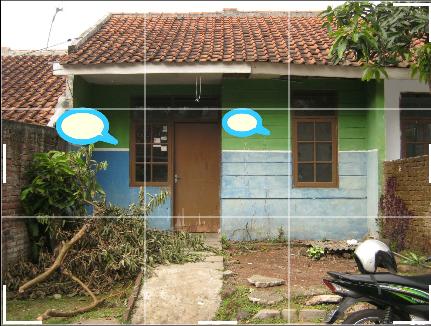 Kondisi rumah saat pertama dibeli
