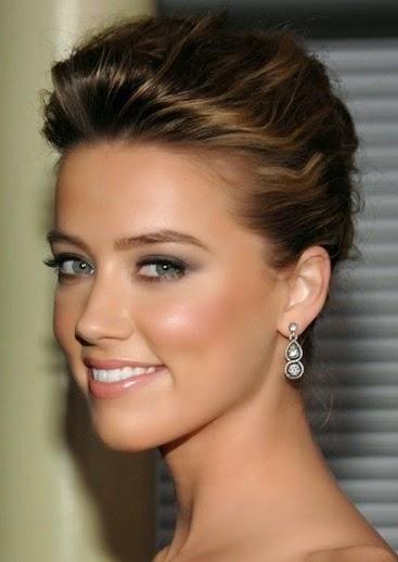 Peinados De Fiesta Para Pelo Liso Finest Free Elegante Peinados