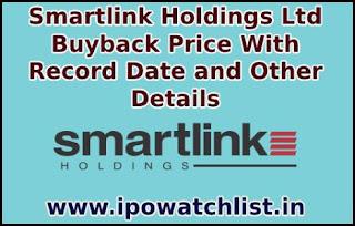 Smartlink Holdings Buyback